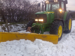 Snow plough for hire in Kent